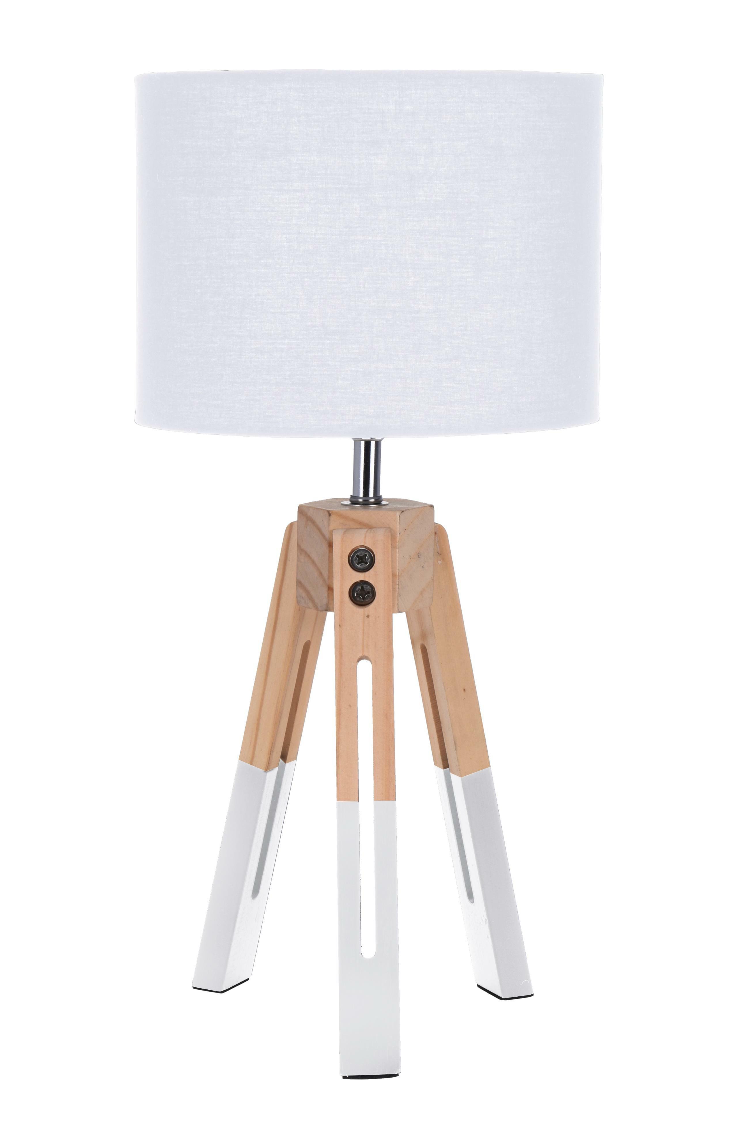 Lampička stolní Intesi Brex bílá