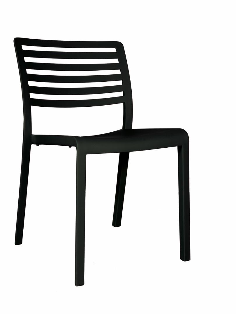 Židle Lama černá