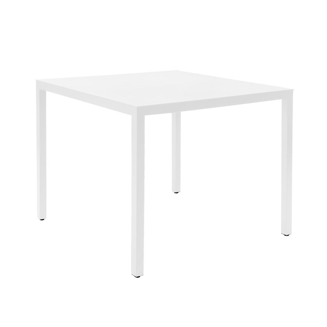 Stůl Barcino 90x90 na 4 nohách bílý