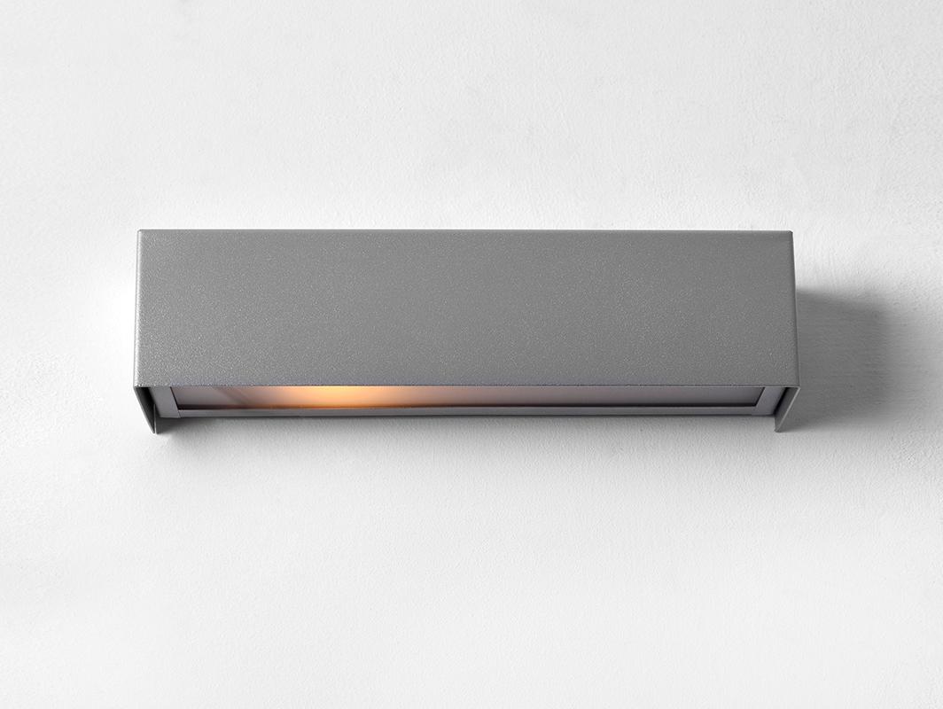 Lampa nástěnná LINE WALL LED Z - stříbrná