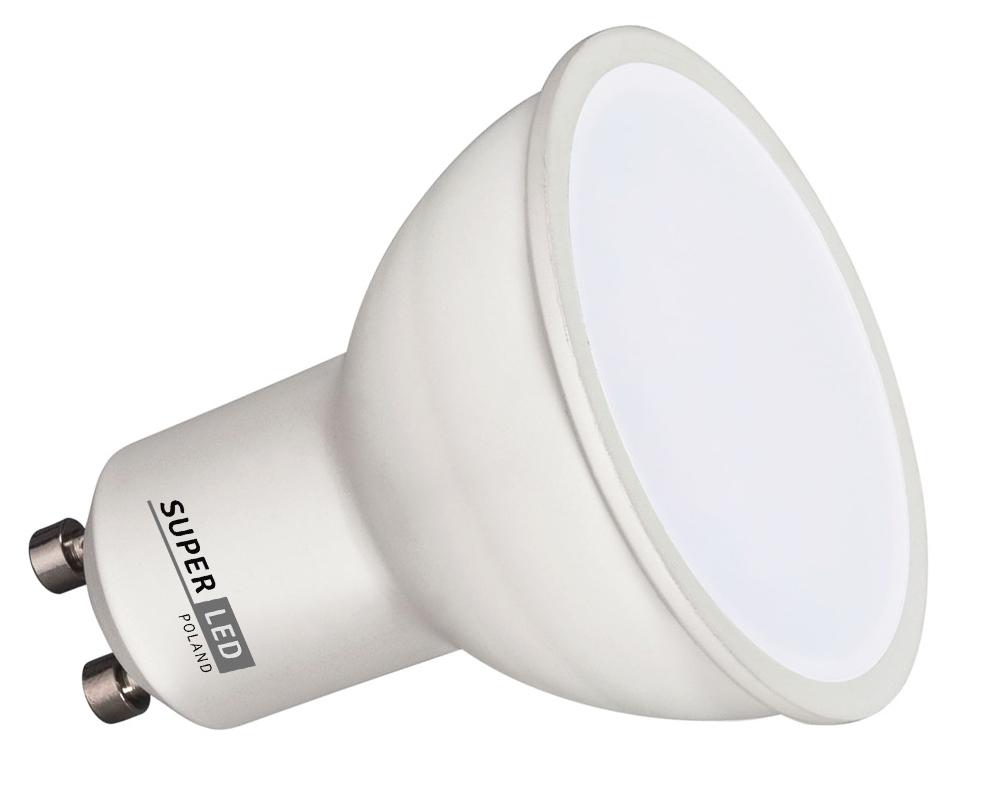 Žárovka LED GU10 6W studená bílá