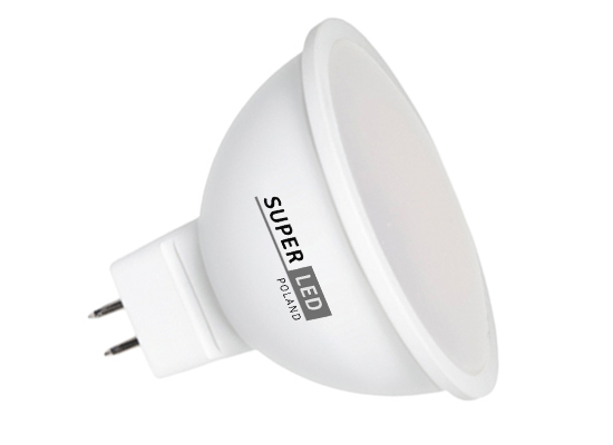 Žárovka LED MR16 SMD 2835 5W 12W studená bílá