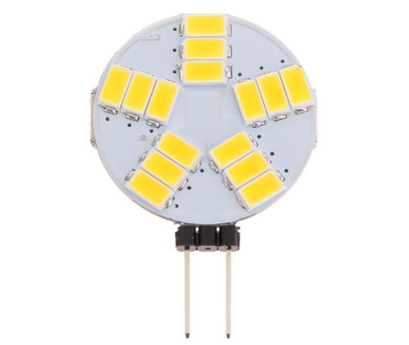 Žárovka LED G4 4W talířek DC 12W neutrální