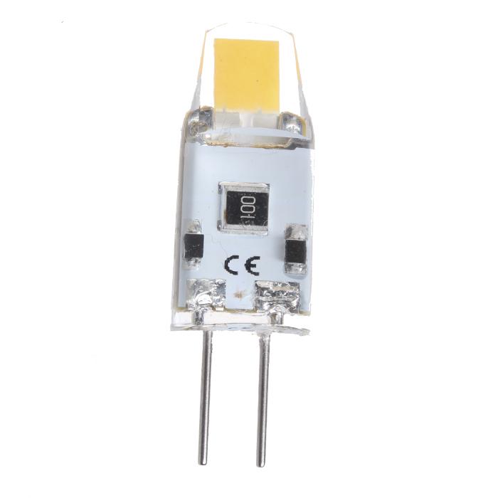 Žárovka LED G4 1W studená bílá