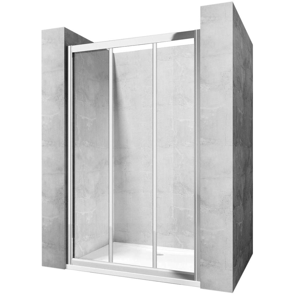 Dveře sprchové Alex - Šířka dveří: 140 cm