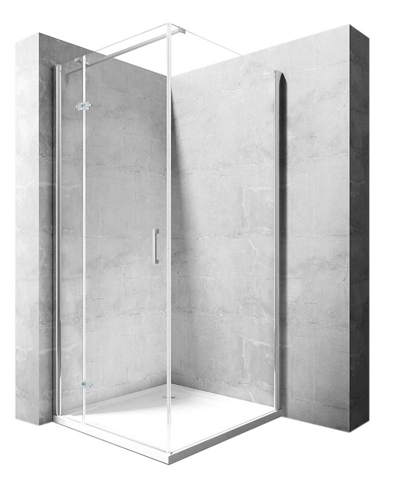 Kabina sprchová Morgan - Rozměry kabiny: 80 x 100 cm