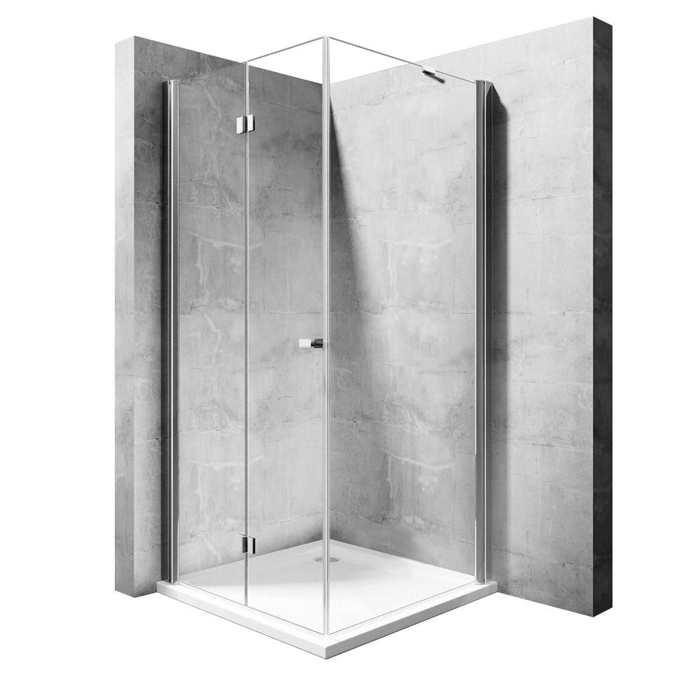Kout sprchový My Space 80 N - Varianty kabiny My Space: Dveře: 80 x Stěna: 90