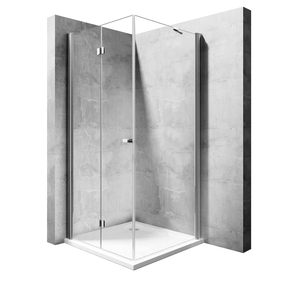 Kout sprchový My Space 80 N - Varianty kabiny My Space: Dveře: 80 x Stěna: 120