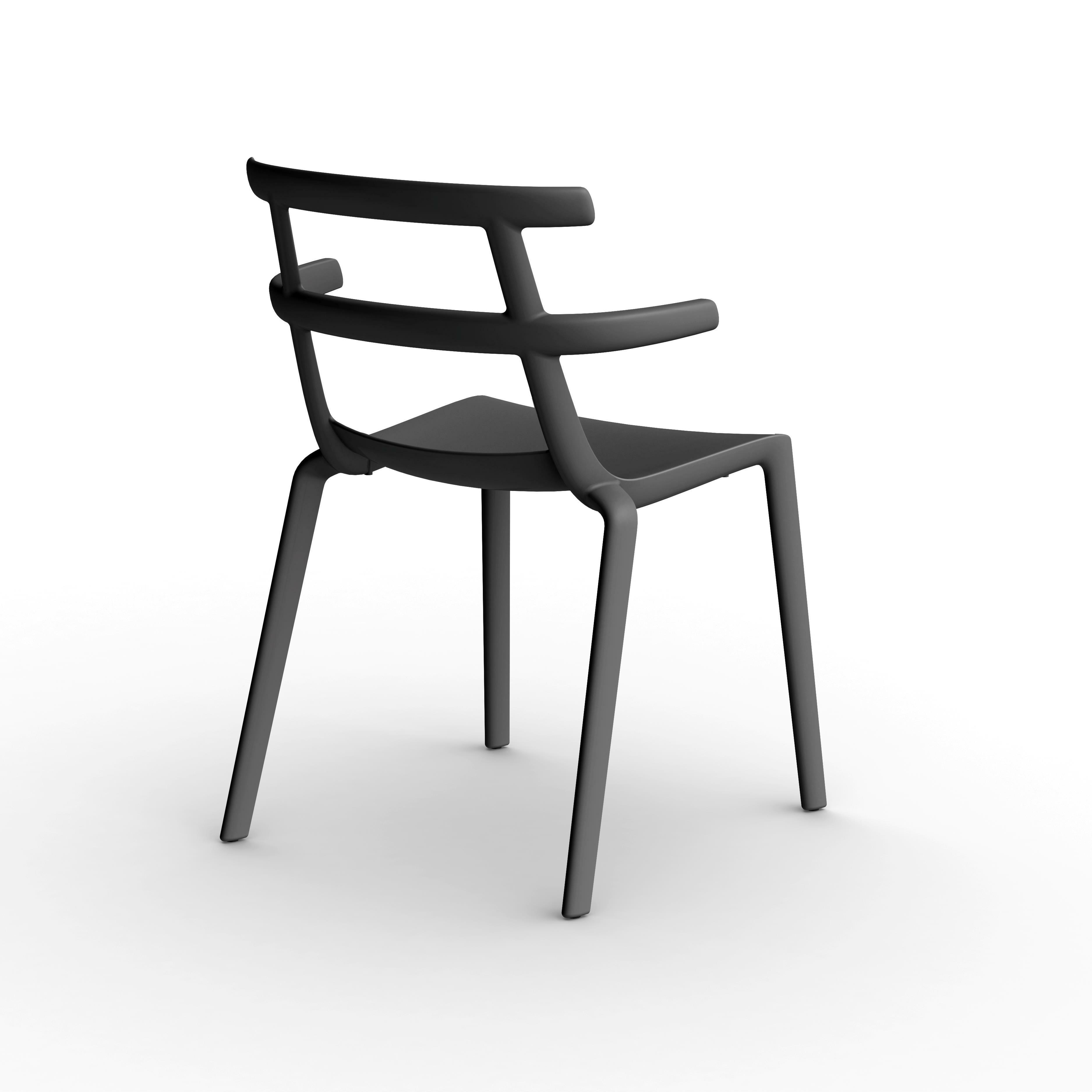 Židle TOKIO černá