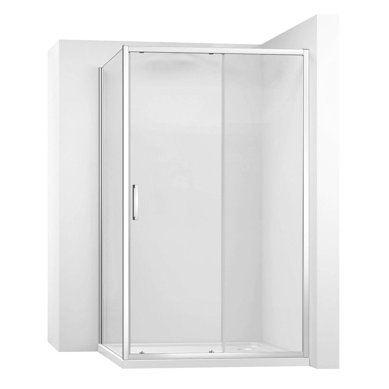 Kabina sprchová REA SLIDE PRO rohová  Varianta produktu - dveře: 130 x Stěny: 80