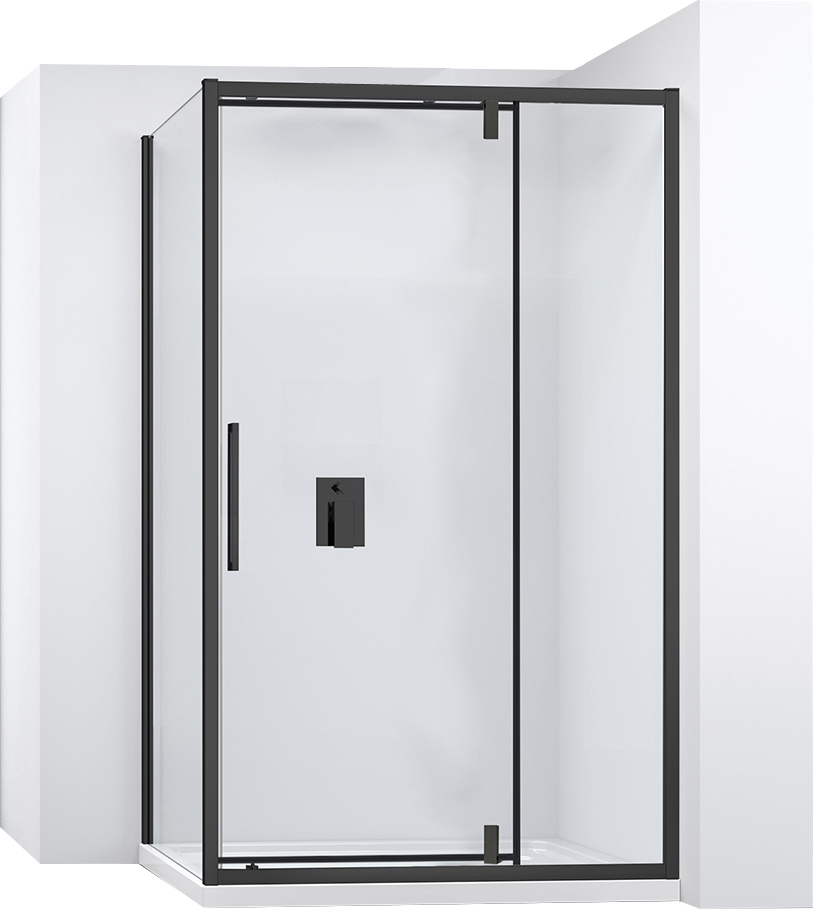 Kabina sprchová rohová RAPID SWING  Varianta produktu - dveře:100 x Stěny:80