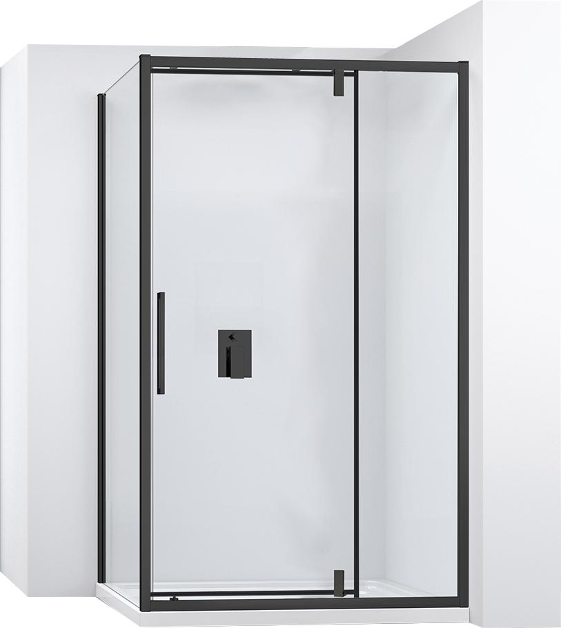 Kabina sprchová rohová RAPID SWING  Varianta produktu - dveře:130 x Stěny:80