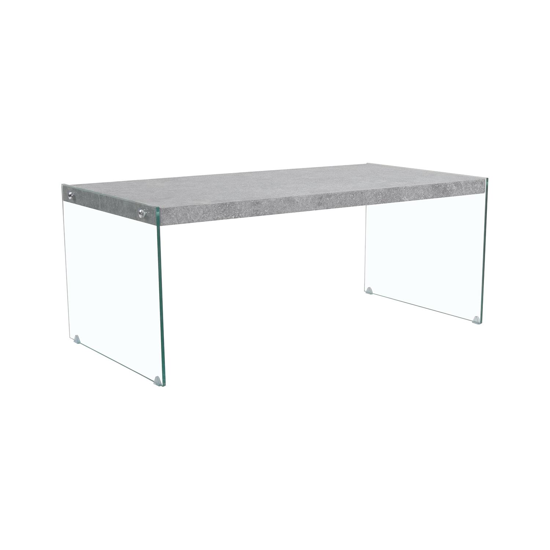 Konferenční stolek sklo/MDF