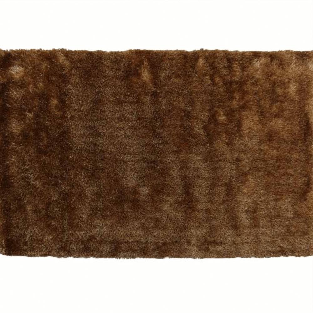 Levně Koberec, hnědozlatá, 80x150, DELAND