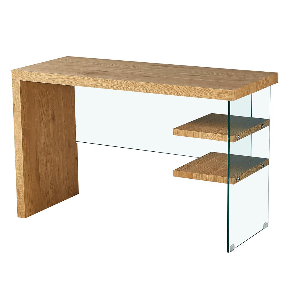 Konzolový/psací stolek, dub, ENRIK