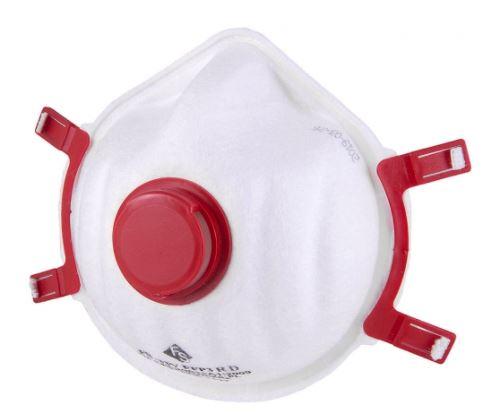 Zdravotní respirátor třídy FFP3 FS s ventilkem 1ks - vyrobeno v EU