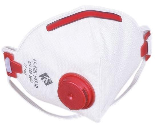 TOP5 Zdravotní respirátor FS s ventilkem 1ks - vyrobeno v EU