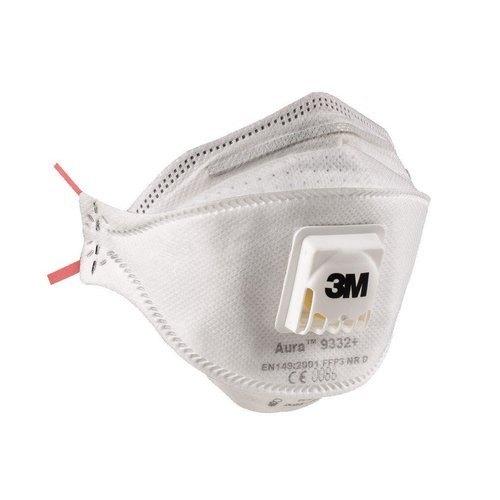 TOP5 Zdravotní respirátor s ventilkem třídy FFP3 3M 9332+ 1ks