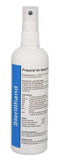 Chirurgická virucidní dezinfekce na pokožku ve spreji - 250 ml