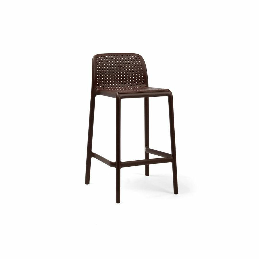 Levně Barová stolička Lido mini kávový