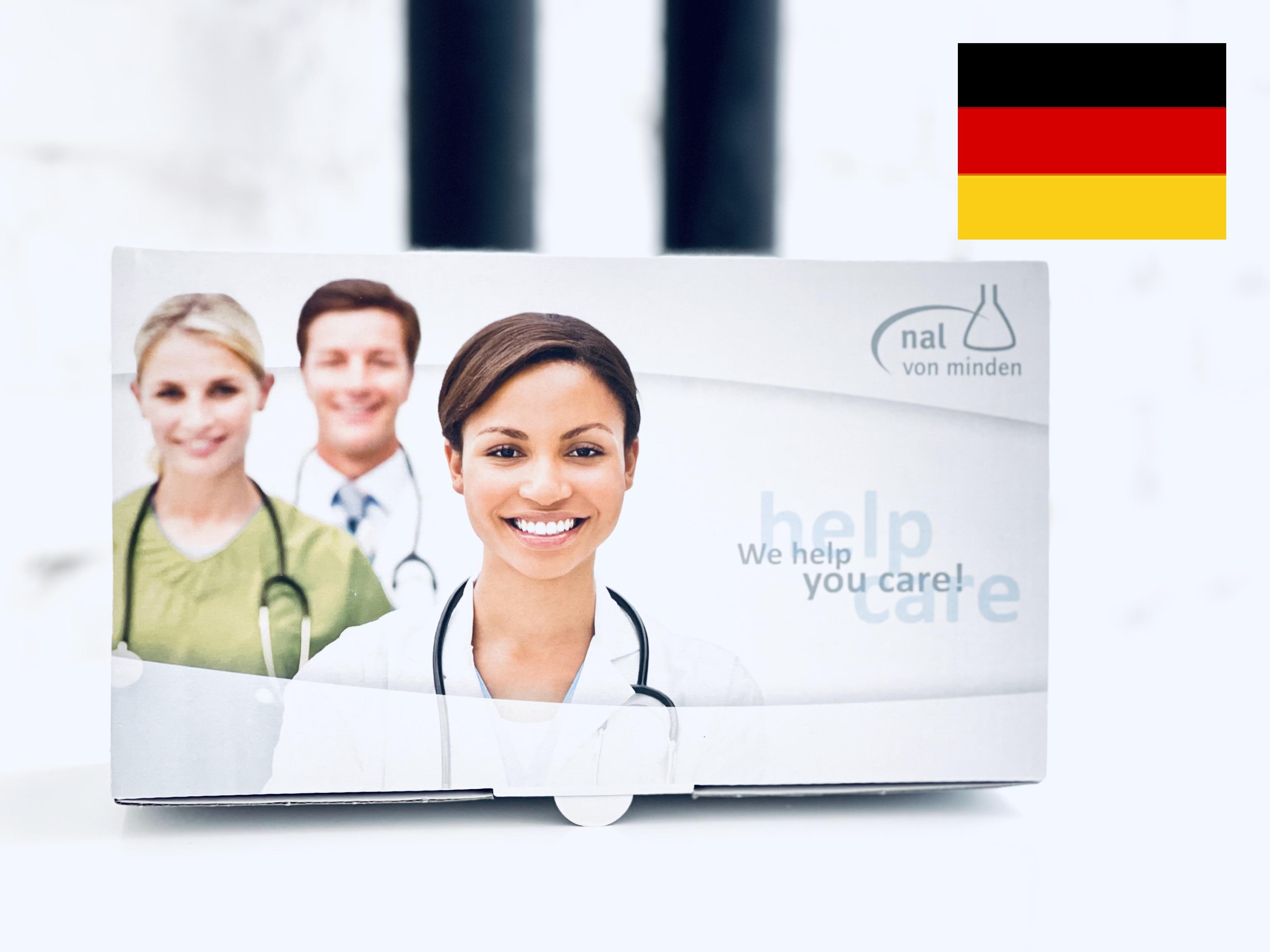 20ks NADAL® COVID-19 Ag Test nal von minden GmbH Německo Množství I: 1ks
