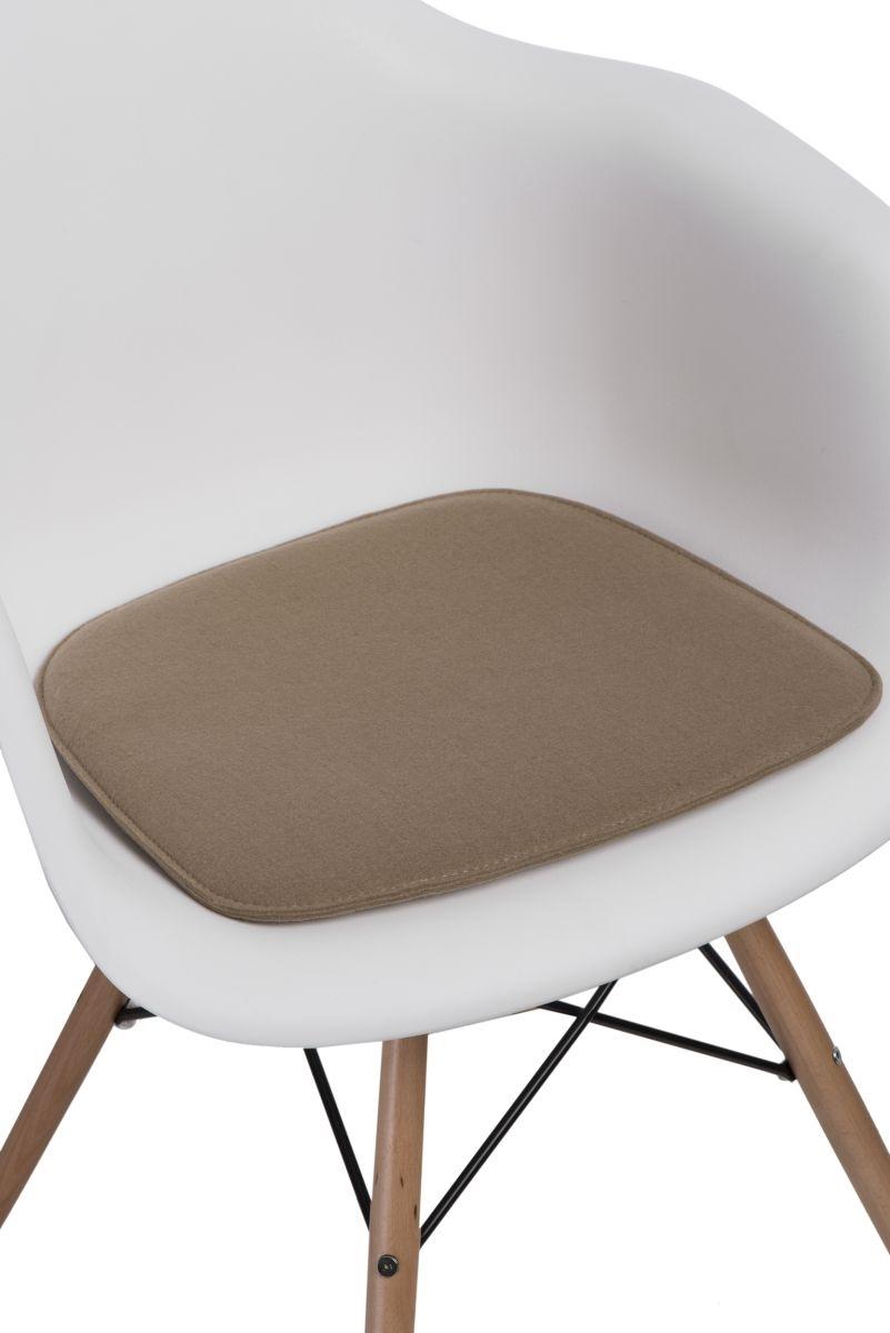 Levně Polštář na židle Arm Chair béžový