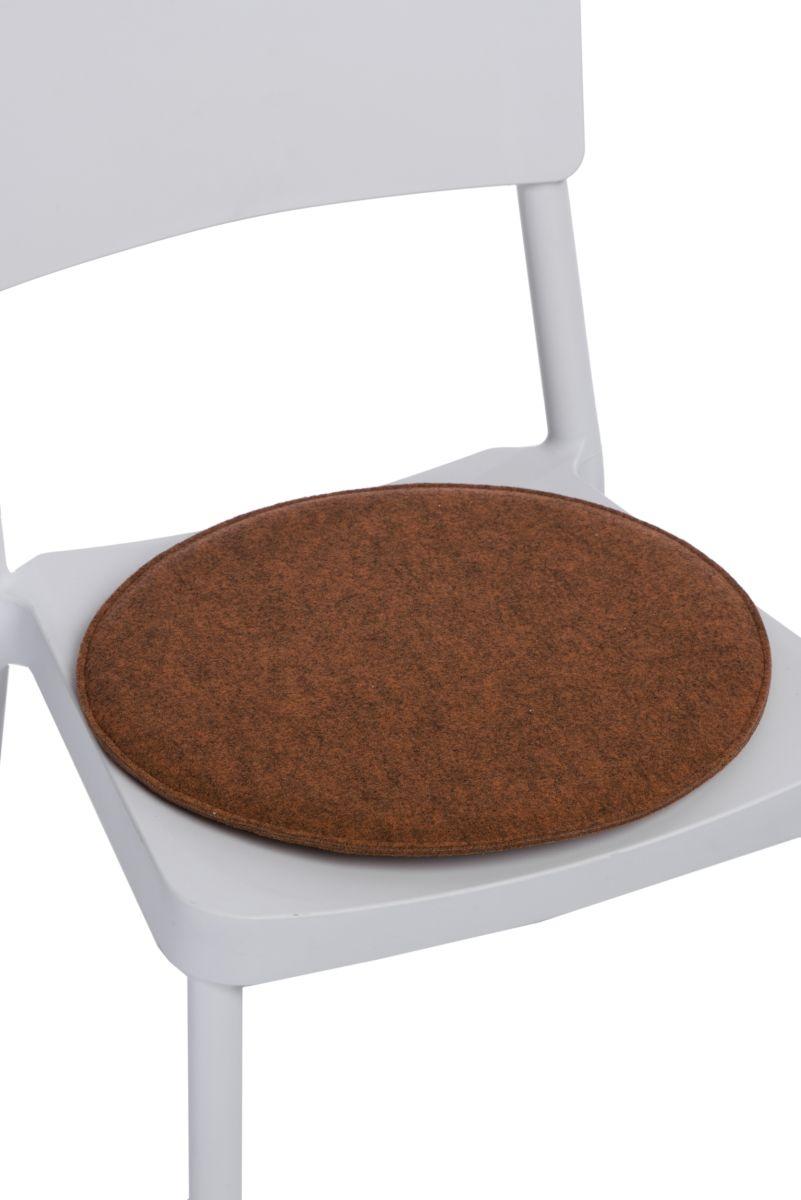 Polštář na židle kulatý