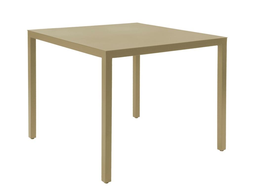 Stůl Barcino 70x70 na 4 nohách pískový