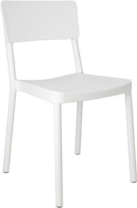Židle Lisboa bílá