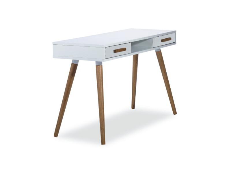 Psací stůl MILAN b1 barva bílá/dub