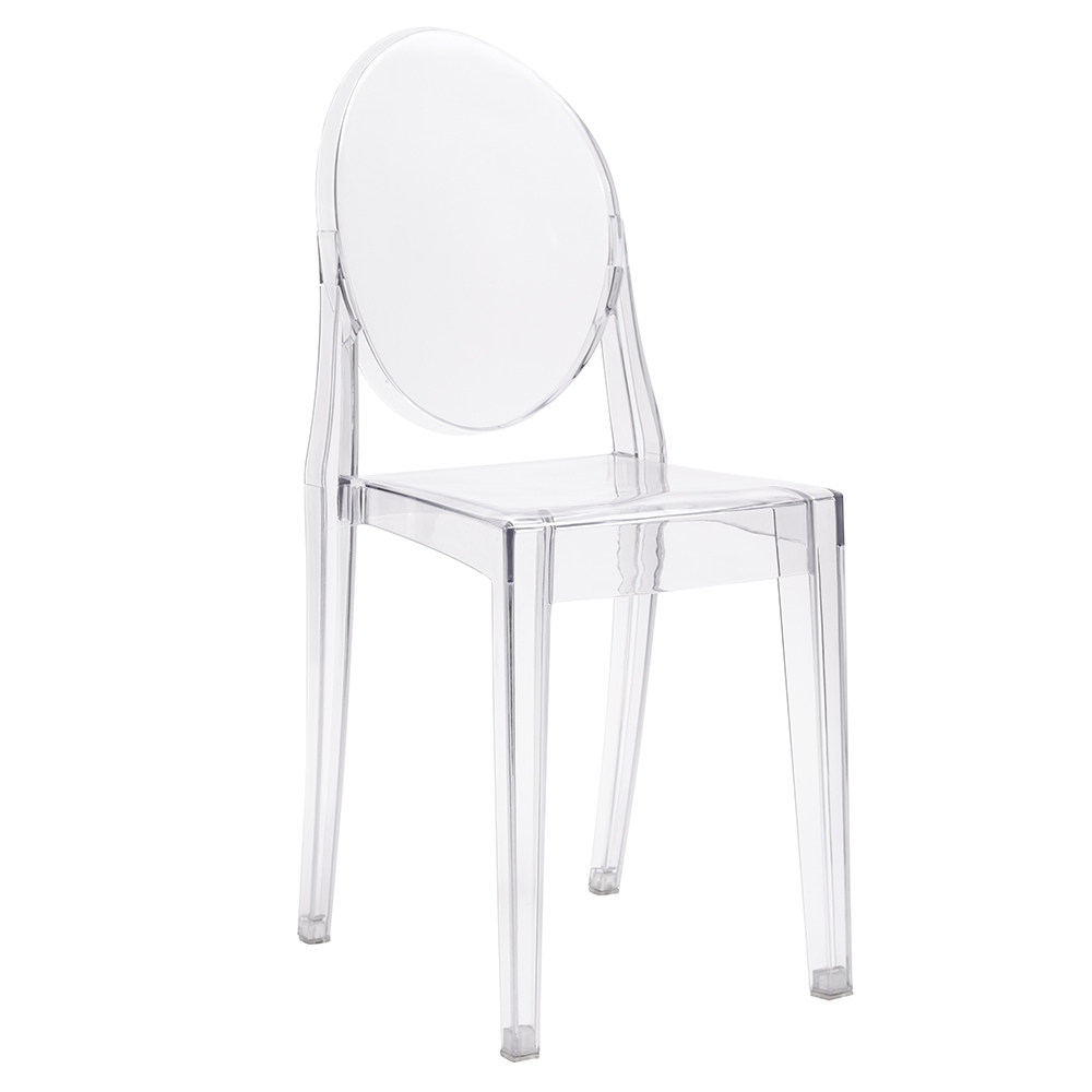 Židle VICTORIA transparentní polykarbonát