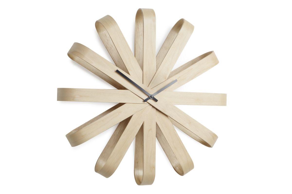 Hodiny RIBON dřevěné