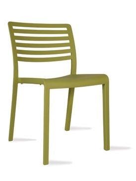 Židle LAMA olive green