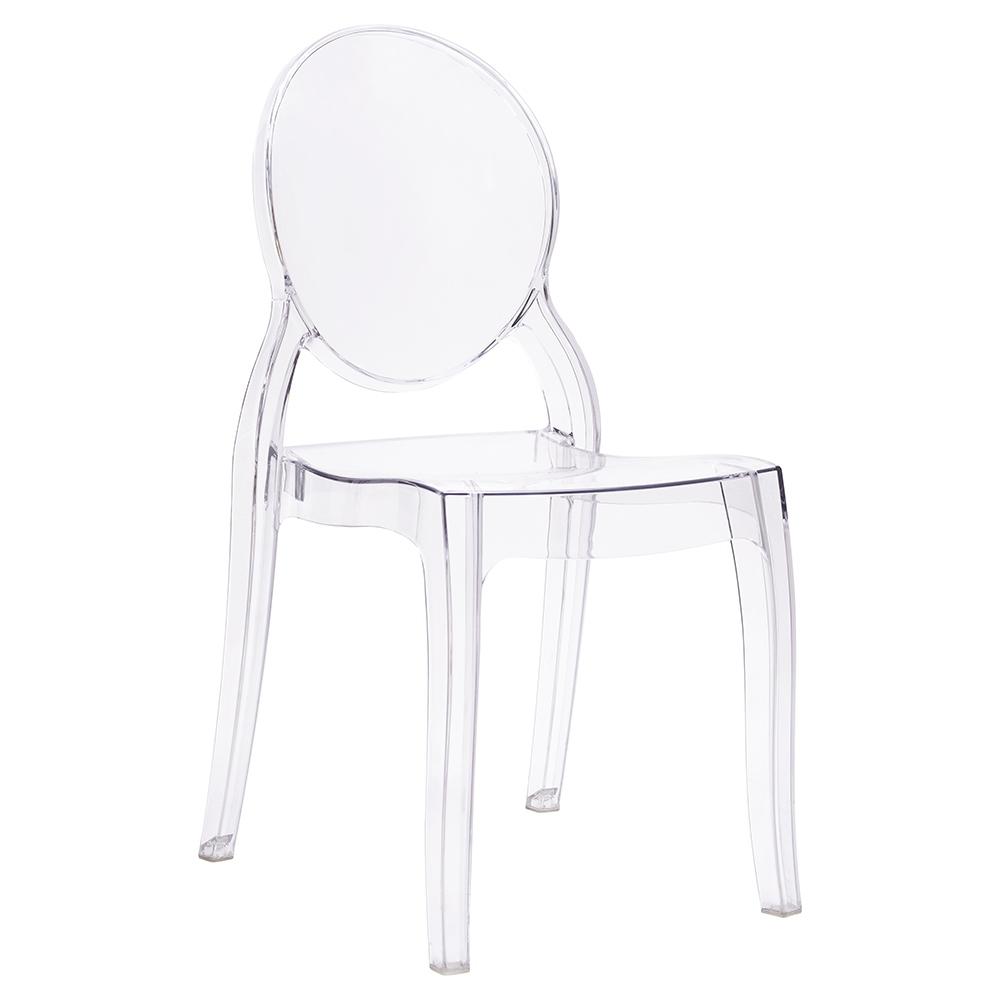 Židle ELIZABETH transparentní - polykarbonát