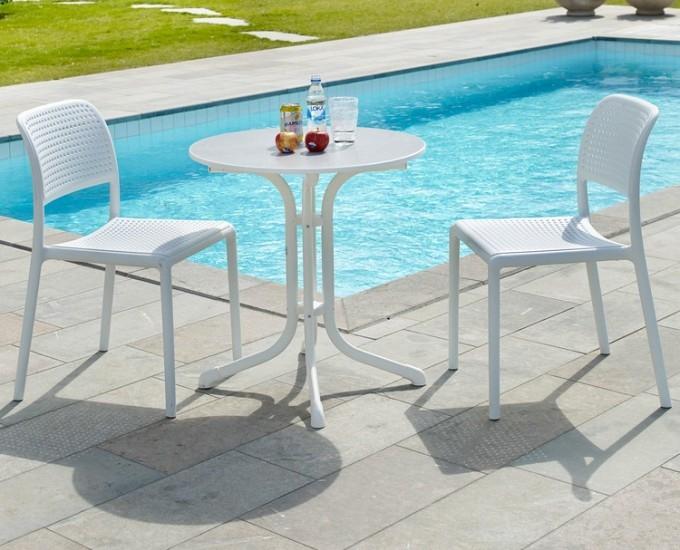 Židle NARDI BORA: polypropylén limetkový