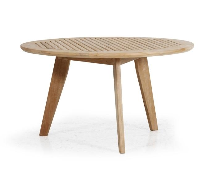 Kulatý stolek teak 90 cm KASTOS