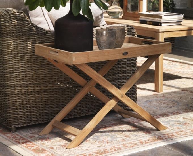 Rozkládací stolek s tácem DAX