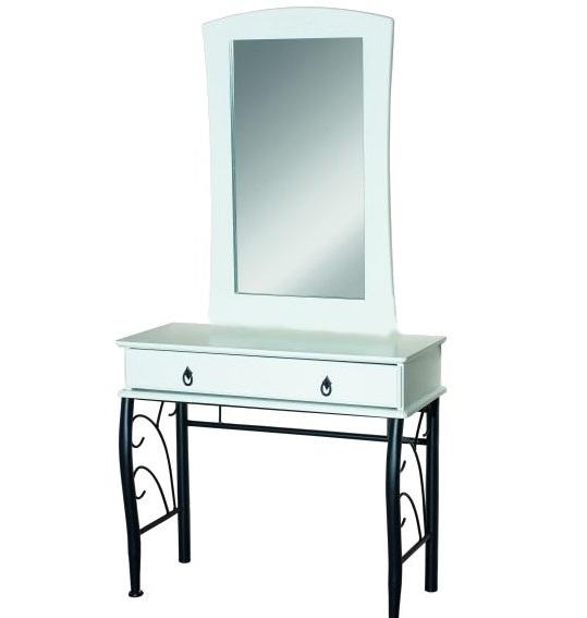 Toaletné stolíky so zrkadlom