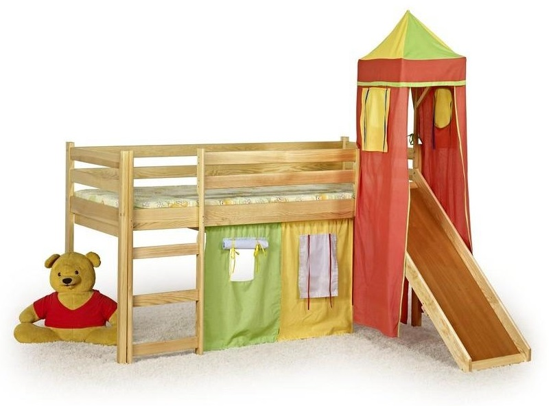 Detské poschodové postele a palandy