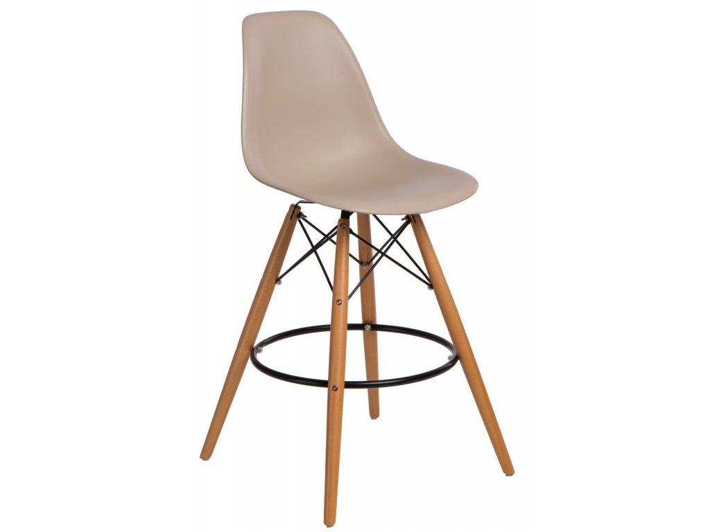 Barová stolička P016V PP béžová