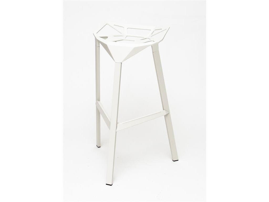 Barová stolička Gap biela