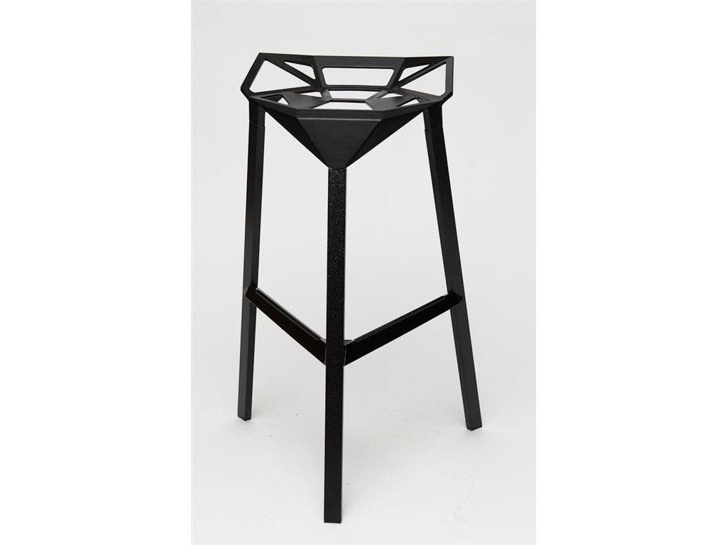 Barová stolička Gap čierna