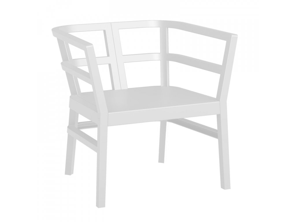 Kreslo Click-Clack biele