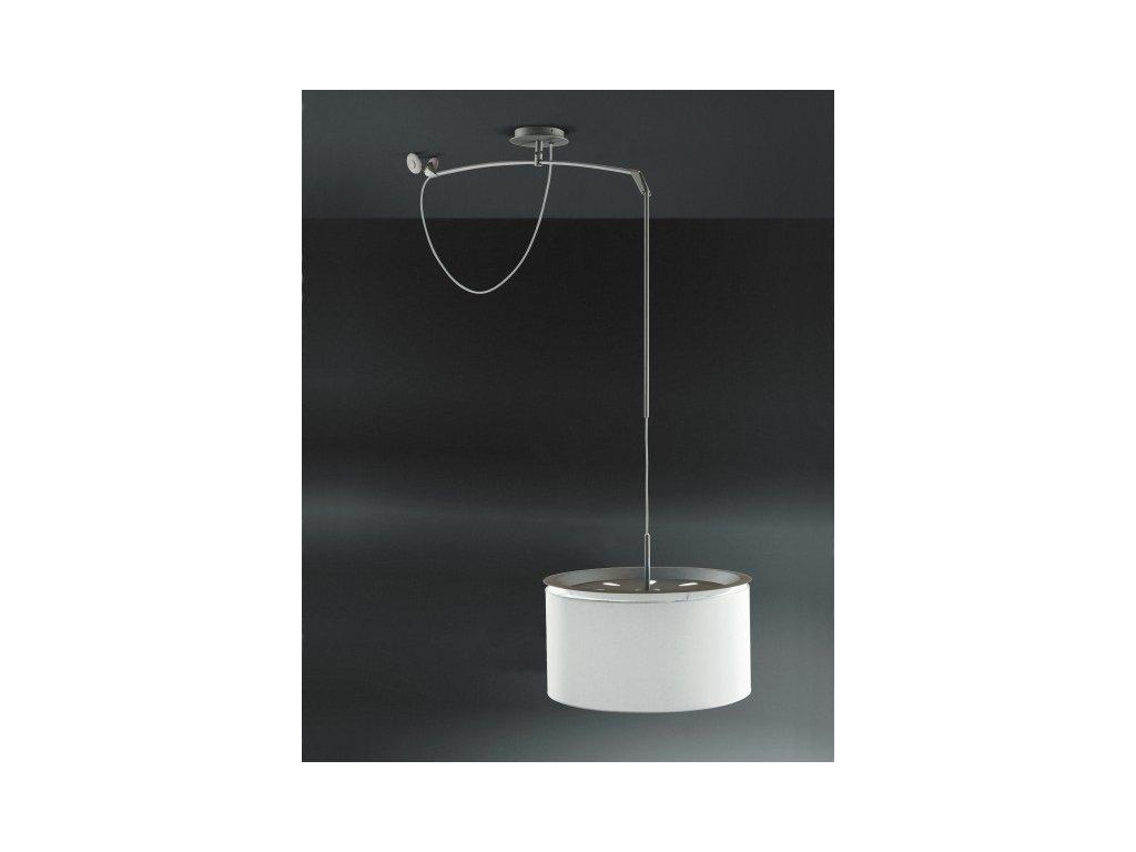 Luster - Lampa Finger Move tienidlo biele, sr. 45 cm