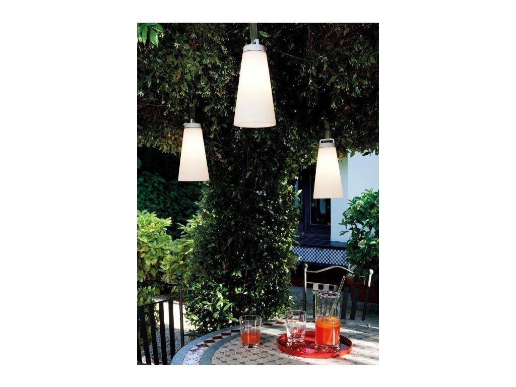Luster - Lampa Sasha biela závesná