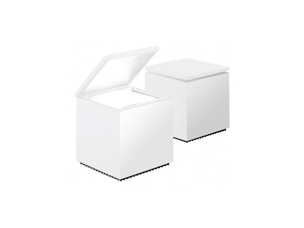 Lampička Cuboluce biela