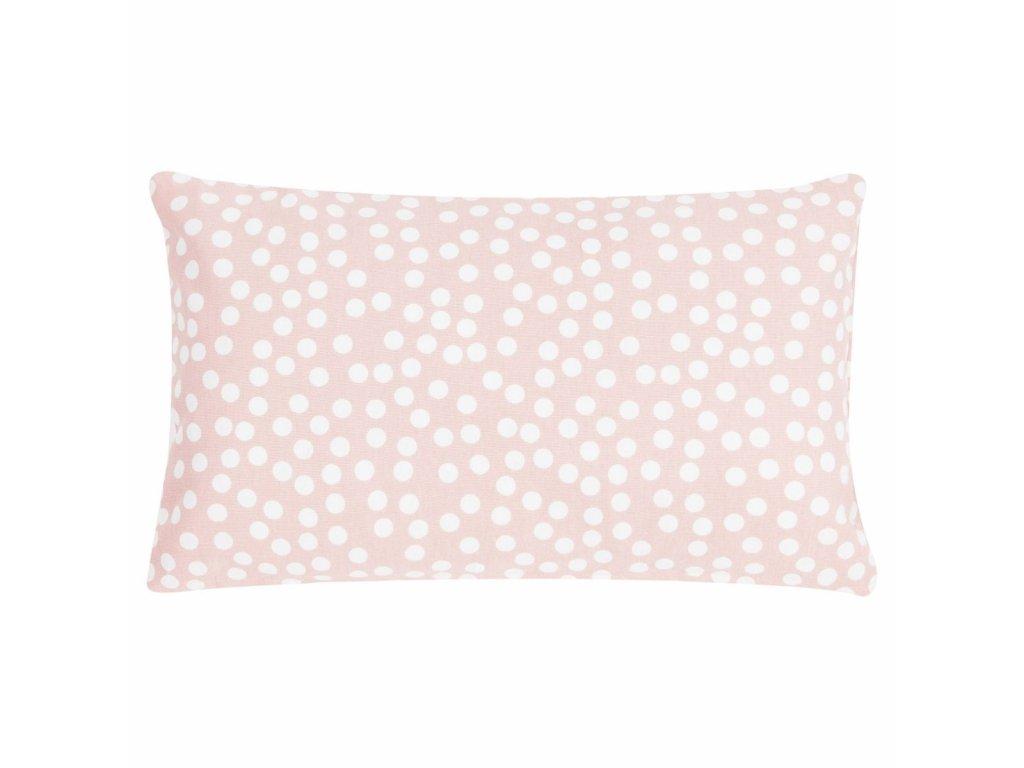 Vankúš Allover Dots 30x50 ružový