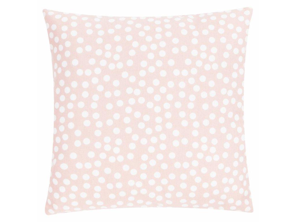 Vankúš Allover Dots 45x45 ružový