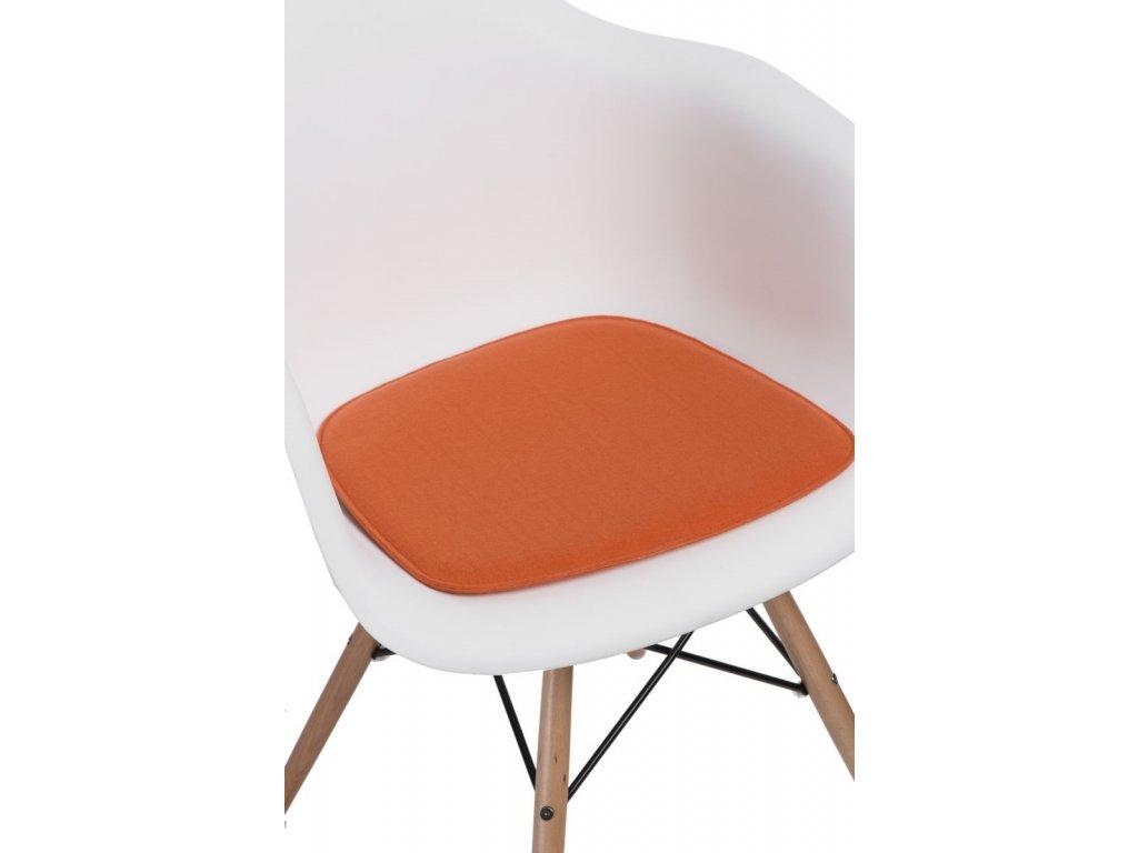 Vankúš na stoličky Arm Chair oranž