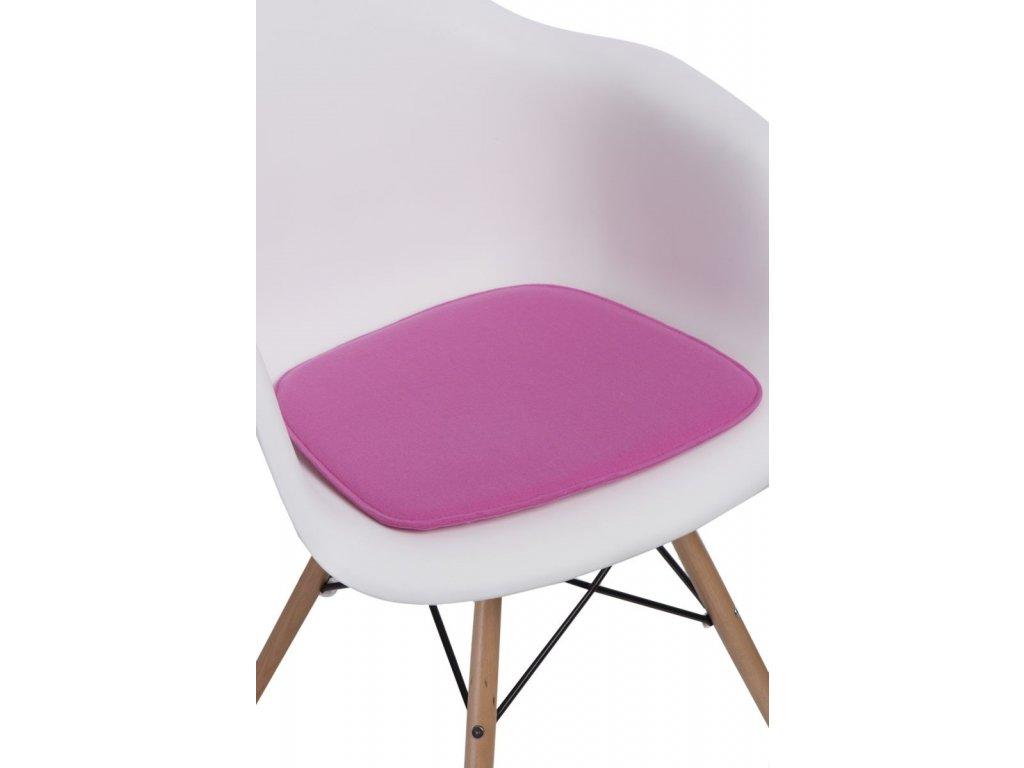Vankúš na stoličky Arm Chair ružový